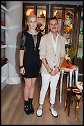 MILLIE WATSON; JOSEPH PORPIGLIA, Dinosaur Designs launch of their first European store in London. 35 Gt. Windmill St. 18 September 2014