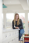 Lana Wrightman at home on 31 Groombridge Road, Hackney, London CREDIT: Vanessa Berberian for The Wall Street Journal<br /> HACKNEY-Lana Wrightman