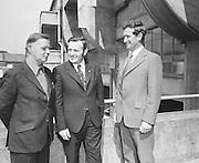 GAA Presentation of cheque at Croke Park, Dublin.29th June 1974
