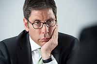 12 MAY 2010, BERLIN/GERMANY:<br /> Dr. Nedim Cen, Vorstandsvorsitzender Q-Cells, waehrend einem Interview, Buero von QCI<br /> IMAGE: 20100512-01-031