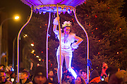 NO FEE PICTURES<br /> 31/12/15 The NYF Procession of Light at St Stephens Green, part of the New Years Festival in Dublin. nyf.com running from 30th Dec to 1st Jan in Dublin. Picture: Arthur Carron