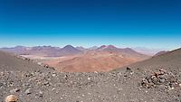 """View from the Volcano, Lascar, """"All volcano's father, an active volcanou outside San Pedro de Atacama, Chile"""