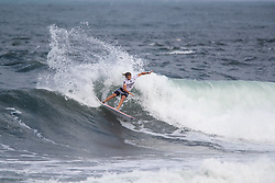 Ricardo Christie of New Zeland advances to the semifinals after placing second in quarterfinal heat 2 ​of the 2018 Hawaiian Pro at Haleiwa, Oahu, Hawaii, USA.