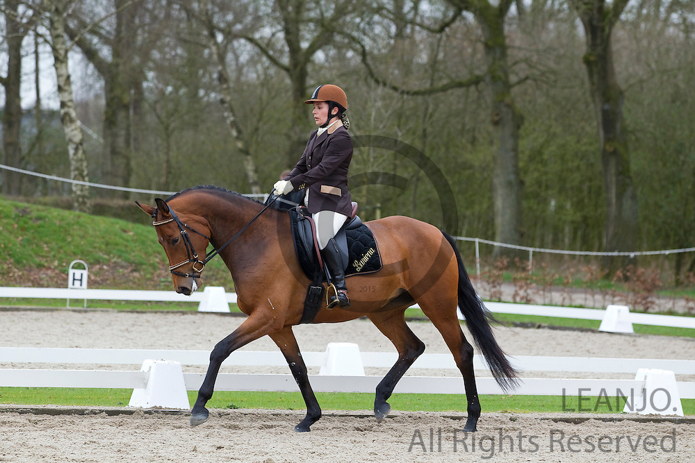 Jannie Wijma - Buriena<br /> Wildcard dag WK Jonge Dressuurpaarden 2011<br /> © DigiShots