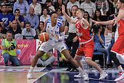 DESCRIZIONE : Beko Legabasket Serie A 2015- 2016 Playoff Quarti di Finale Gara3 Dinamo Banco di Sardegna Sassari - Grissin Bon Reggio Emilia<br /> GIOCATORE : Kenneth Kadji<br /> CATEGORIA : Palleggio Controcampo<br /> SQUADRA : Dinamo Banco di Sardegna Sassari<br /> EVENTO : Beko Legabasket Serie A 2015-2016 Playoff<br /> GARA : Quarti di Finale Gara3 Dinamo Banco di Sardegna Sassari - Grissin Bon Reggio Emilia<br /> DATA : 11/05/2016<br /> SPORT : Pallacanestro <br /> AUTORE : Agenzia Ciamillo-Castoria/L.Canu