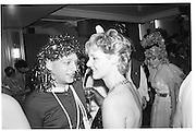 Neil Mendoza (left), Piers Gaveston Ball, Park Lane Hotel 13.05.83© Copyright Photograph by Dafydd Jones 66 Stockwell Park Rd. London SW9 0DA Tel 020 7733 0108 www.dafjones.com