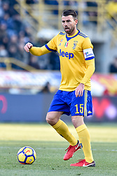 December 17, 2017 - Bologna, Italy - Andrea Barzagli of Juventus during the Serie A match between Bologna and Juventus at Renato Dall'Ara Stadium, Bologna, Italy on 17 December 2017. (Credit Image: © Giuseppe Maffia/NurPhoto via ZUMA Press)