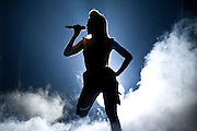 Beyonce perfoms at Key Arena in Seattle , WA