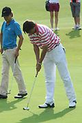 Een dag voor het KLM Open wordt de KLM pro Am gespeeld. Amateurs spelen gezamenlijk met een speler van de European Tour , sponsoren en genodigden op de toernooibaan van Kennemer Golf & Country Club .<br /> <br /> Op de foto:<br /> <br />  <br /> <br /> The day before the KLM Open, the KLM pro Am games. Amateurs play together with one player from the European Tour, sponsors and invited guests at the tournament path of Kennemer Golf & Country Club.
