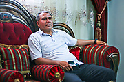 A Syrian fixer who worked for foreign press during the civil war Yasser al-Haji appears to be taking a break during a routine visit of al-Bab in the Aleppo Governorate on Sunday, June 10, 2012. (Photo by Vudi Xhymshiti)