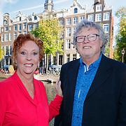 NLD/Amsterdam/20181018 - Boekpresentatie Carry Tefsen, Carry en partner Ger Hinrichs