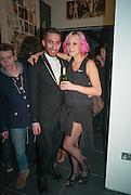 JOSEPH KOCHARIAN; AMELIA PHILLIPS, Rankin: The Hunger Issue 2 - magazine launch party Rankin Photography Annroy, 110-114 Grafton Road, London,  8 May 2012