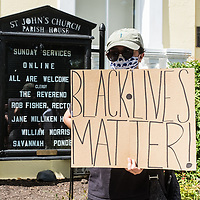 George Floyd Protests - Washington DC - Seconds