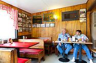 The Huff-n-Puff drive in diner in Randle, Washington on Highway 12 serves burgers and milkshakes.