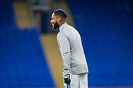 Cardiff City's Leandro Bacuna (7) during the pre-match warm-up at the EFL Sky Bet Championship match between Cardiff City and Barnsley at the Cardiff City Stadium, Cardiff, Wales on 3 November 2020.