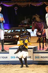 Meyer Janne Friederike, (GER)<br /> DKB-Riders Tour<br /> Grand Prix Kreditbank Jumping München 2015<br /> © Hippo Foto - Stefan Lafrentz