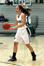 10 January 2015:  Rebekah Ehresman during an NCAA women's division 3 CCIW basketball game between the Carthage Reds and the Illinois Wesleyan Titans in Shirk Center, Bloomington IL