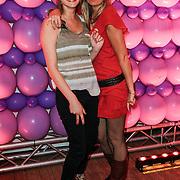 NLD/Amsterdam/20120330 - Emma Raising Fund Night, Charlotte van Drimmelen en vriendin