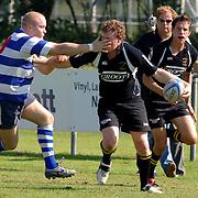 NLD/Hilversum/20060910 - Rugby, Hilversum - Castricum, vinger in oog