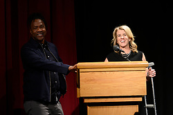 """Hosts Roger Ross Williams and Rory Kennedy during  the Academy of Motion Picture Arts and Sciences' """"Oscar Week: Documentaries"""" event on Tuesday, February 19, 2019 at the Samuel Goldwyn Theater in Beverly Hills. The Oscars® will be presented on Sunday, February 24, 2019, at the Dolby Theatre® in Hollywood, CA and televised live by the ABC Television Network."""