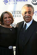 Cathy Hughes and Rev. Al Sharpton at The Apollo Theater 4th Annual Hall of Fame Induction Ceremony & Gala held at The Apollo Theater on June 2, 2008
