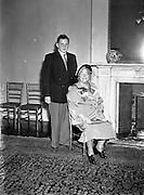 9/7/1952<br /> 7/9/1952<br /> 9 July 1952<br /> <br /> Wedding of Mr. Terrence Goddard and Miss May Lowlor
