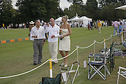 Chris Mills,( dark glasses)  Bianca Hicks and Alan Mills, Veuve Clicquot Gold Cup 2006. Final day. 23 July 2006. ONE TIME USE ONLY - DO NOT ARCHIVE  © Copyright Photograph by Dafydd Jones 66 Stockwell Park Rd. London SW9 0DA Tel 020 7733 0108 www.dafjones.com