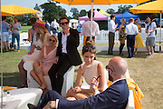 JULIA NEAL; LUCY GEORGE; DAMIEN MARTYN; DRUMMOND MONEY-COUTTS; ANNA-LOUISE DOWNMAN, Veuve Clicquot Gold Cup, Cowdray Park, Midhurst. 21 July 2013