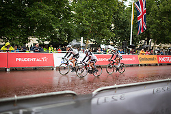 Team Sunweb riders roll to the start the Prudential Ride London Classique - a 66 km road race, starting and finishing in London on July 29, 2017, in London, United Kingdom. (Photo by Balint Hamvas/Velofocus.com)