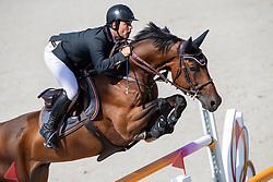 Alvarez Moya Sergio, ESP, Jet Run<br /> European Championship Jumping<br /> Rotterdam 2019<br /> © Hippo Foto - Dirk Caremans