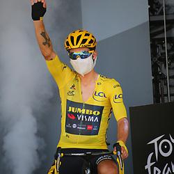 Tour de France 2020  <br /> Jumbo-Visma rider Primoz Roglic