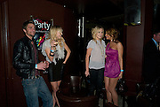 Tom Mason; Sam Marchant; Amanda Marchant; Naomi Millbank Smith.  Party after the Premiere of 'Clubbed', at Sugar Reef. SohoLondon. 7 January 2009 *** Local Caption *** -DO NOT ARCHIVE-© Copyright Photograph by Dafydd Jones. 248 Clapham Rd. London SW9 0PZ. Tel 0207 820 0771. www.dafjones.com.<br /> Tom Mason; Sam Marchant; Amanda Marchant; Naomi Millbank Smith.  Party after the Premiere of 'Clubbed', at Sugar Reef. SohoLondon. 7 January 2009