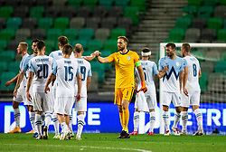 Jan Oblak of Slovenia after the UEFA Nations League C Group 3 match between Slovenia and Moldova at Stadion Stozice, on September 6th, 2020. Photo by Vid Ponikvar / Sportida