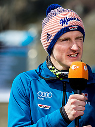 Severin Freund of Germany during Ski Flying Hill Men's Team Competition at Day 3 of FIS Ski Jumping World Cup Final 2017, on March 25, 2017 in Planica, Slovenia. Photo by Vid Ponikvar / Sportida