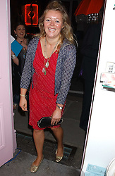 MISS CATHERINE CAZALET at a party to celebrate the opening of the new Lotus store at 11 Pont Street, London SW1 on 13th September 2005.<br /><br />NON EXCLUSIVE - WORLD RIGHTS