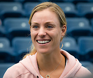 Angelique Kerber of Germany during Media Day at the 2018 US Open Grand Slam tennis tournament, New York, USA, August 24th 2018, Photo Rob Prange / SpainProSportsImages / DPPI / ProSportsImages / DPPI