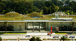"California, San Francisco: The ""living roof"" of the new California Academy of Sciences building in Golden Gate Park, which opened in September 2008..Photo #: 24-casanf83826.Photo © Lee Foster 2008"