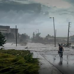 Climate change, floods, Cuba