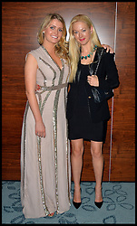 Earl Spencer's daughter Lady Kitty Spencer (left) the Niece of Princess Diana  with Trustee Belinda McKeeve as they attend Give Us Time event in London, United Kingdom. Wednesday, 27th November 2013. Give us Time is a charity set up for service personnel to have holidays with their families after tours in War zones. Picture by Andrew Parsons / i-Images