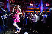 SOPHIE ELLIS-BEXTOR PERFORMING, The Supper Club, party which follows evening of 50  dinner parties raising money for the Terrence Higgins Trust. CafŽ de Paris, 3 Coventry Street, London, 28 October 2008. *** Local Caption *** -DO NOT ARCHIVE -Copyright Photograph by Dafydd Jones. 248 Clapham Rd. London SW9 0PZ. Tel 0207 820 0771. www.dafjones.com