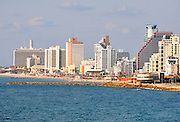 Israel, Tel Aviv Beachfront hotels