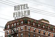 Exterior of Hotel Finlen