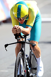 Australia's Callum Scotson in action during the Men's Individual Time Trial at Currumbin Beachfront on day six of the 2018 Commonwealth Games in the Gold Coast, Australia. PRESS ASSOCIATION Photo. Picture date: Tuesday April 10, 2018. See PA story COMMONWEALTH Cycling Road. Photo credit should read: Danny Lawson/PA Wire. RESTRICTIONS: Editorial use only. No commercial use. No video emulation.