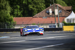June 4, 2017 - Le Mans, France - 69 FORD CHIP GANASSI RACING TEAM USA (USA) FORD GT LMGTE PRO RYAN BRISCOE (USA) RICHARD WESTBROOK (GBR) SCOTT DIXON  (Credit Image: © Panoramic via ZUMA Press)