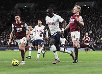 Football - 2019 / 2020 Premier League - Tottenham Hotspur vs. Burnley<br /> <br /> Moussa Sissoko of Spurs moves through to score goal no 5  at the Tottenham Hotspur Stadium.<br /> <br /> COLORSPORT/ANDREW COWIE