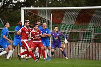 Sam Minihan. Colne FC 0-2 Stockport County FC. Pre-season friendly. 5.9.20