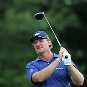 Ernie Els, South Africa,   in action during the fourth round of theThe Barclays Golf Tournament at The Ridgewood Country Club, Paramus, New Jersey, USA. 24th August 2014. Photo Tim Clayton