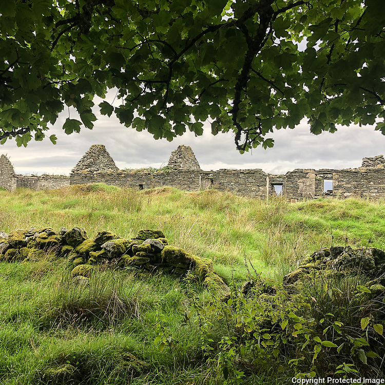 North Ardbeg farmstead, Argyll & Bute, Scotland.
