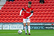 Doncaster Rovers defender Danny Amos warms up during the EFL Sky Bet League 1 match between Doncaster Rovers and Bradford City at the Keepmoat Stadium, Doncaster, England on 22 September 2018.