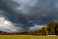 Town of Wallkilll, New York - Changing skies on Oct. 23, 2018.